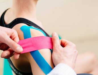 Fizik tedavide rehabilitasyon ve egzersiz.