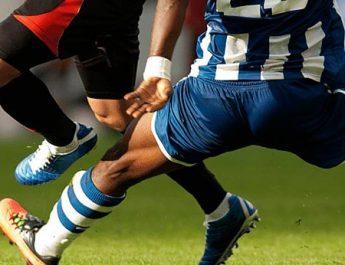 Futbolda ve sporda yaralanmalar.