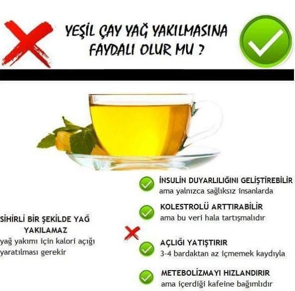 yeşil çay,yeşil çay tarifi