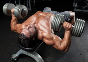 dumbell bench press