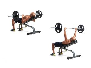 incline bench press